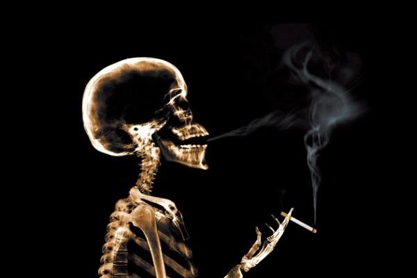 Вредное для здоровья курение