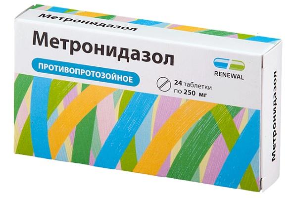Таблетки Метродиназол