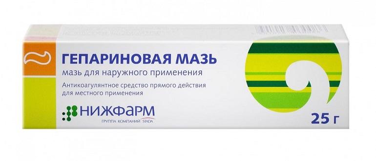 Гепариновая мазь для лечения прыщей