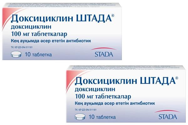 Препарат Доксициклин от акне