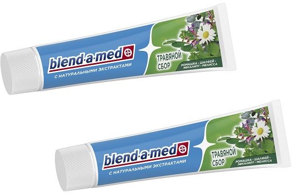 Зубная паста на травах от blend-a-med