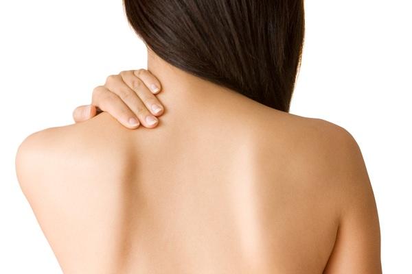 Спина без угревой сыпи