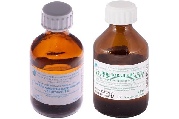 Эффективная от прыщей салициловая кислота — 1% и 2%