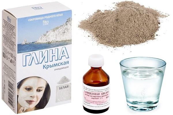 Рецепт лечебной маски с салициловой кислотой