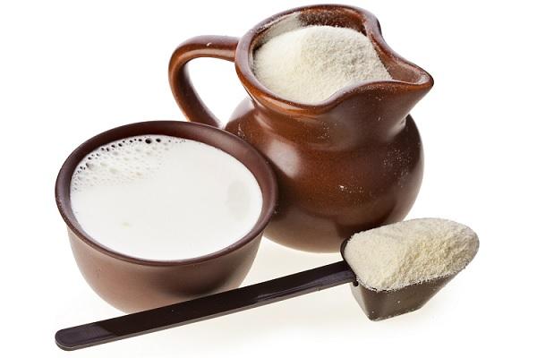 Глина с молоком