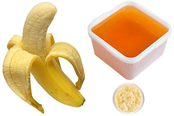 Банан с медом и маслом ши