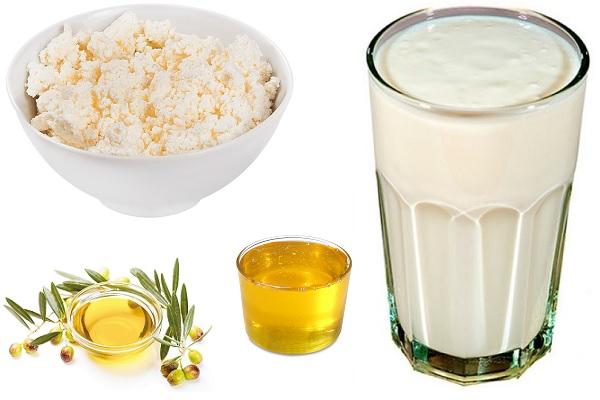 Творог с медом и другие продукты